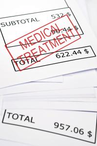 medical bills personal injury case